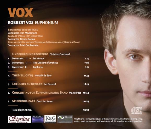 VOX tracklist