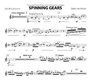 Spinning Gears