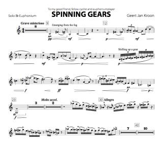 Spinning Gears