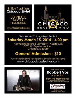 2014; Chicago Brass Band