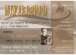 2015; Uitnodiging 'Musique Renard'